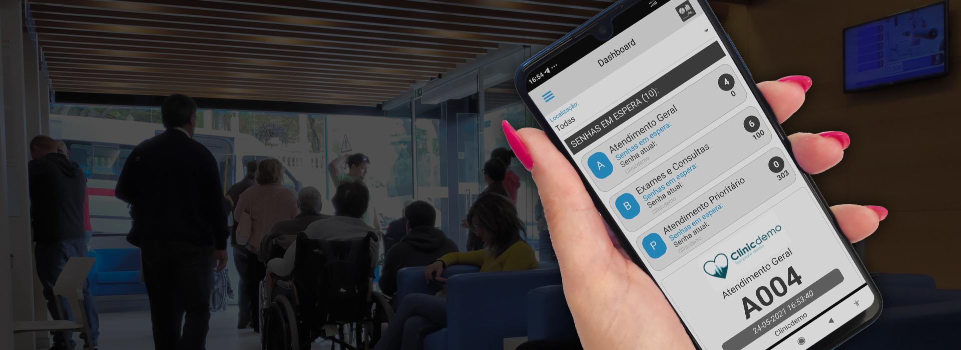 APP mobile, simples, confortável e em tempo real!